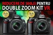 Promotii double zoom kit D5000 si D90