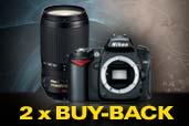 Doua promotii Buy-Back: Nikon D90 si Nikkor 70-300mm