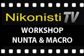 Transmisie LIVE: Workshop foto de nunta si macro