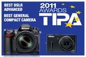 Nikon D7000 si Nikon COOLPIX P300 premiate la TIPA 2011