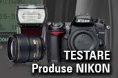 Program de testare Nikon