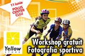 Workshop gratuit de fotografie sportiva in Cluj-Napoca