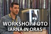 """Inregistrare video: Seminar foto """"Iarna in oras"""" cu Serban Mestecaneanu"""