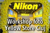 Workshop foto de moda gratuit sustinut de Yellow Store Cluj
