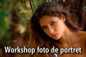 Workshop foto de portret cu Mircea Bezergheanu