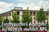 Fotoreporterii Agentiei Nationale Agerpres au devenit membri NPS