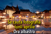 Se cauta fotografia lunii aprilie: Ora albastra