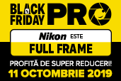 Nikon este FULL FRAME, de Black Friday Pro 2019!