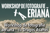 Workshop de fotografie aeriana - cu Dragos Asaftei