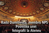 Radu Dumitrescu, membru NPS - Povestea unei fotografii la Ateneul Roman