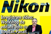 Inregistrare video: Workshop de editare foto cu Bogdan Panait