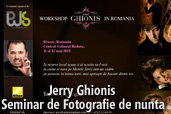 Jerry Ghionis - Workshop de fotografie de nunta