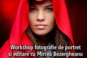 Workshop fotografie de portret si editare in Capture NX-D cu Mircea Bezergheanu