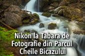 Nikon la Tabara de Fotografie din Parcul Cheile Bicazului