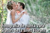 Fotografia de nunta vara - Sfaturi de la Brett Florens