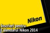 Inscrieri pentru Calendarul Nikon 2014