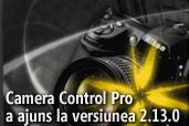 Camera Control Pro a ajuns la versiunea 2.13.0