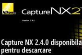 Capture NX 2.4.0 disponibila pentru descarcare