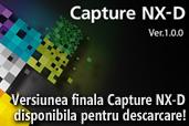 Versiunea finala Capture NX-D disponibila pentru descarcare!
