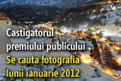 Se cauta fotografia lunii ianuarie 2012 - Castigatorul premiului publicului