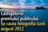 Se cauta fotografia lunii august 2012 - Castigatorul premiului publicului