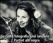 Se cauta fotografia lunii ianuarie 2015 - Portret alb-negru