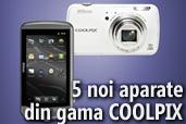 Nikon lanseaza 5 aparate compacte, incluzand si primul aparat foto cu Android