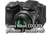 Gama Nikon COOLPIX  primeste 7 modele noi