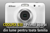 Nikon COOLPIX S30 - Nikon revolutioneaza lumea compactelor cu o noua categorie de aparate