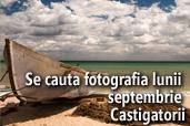 Se cauta fotografia lunii septembrie - Premiile juriului si publicului
