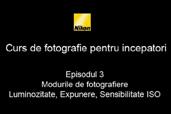 Cursul de introducere in fotografie cu Radu Grozescu - Episodul 3