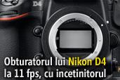 Asa arata obturatorul lui Nikon D4 la 11 cadre pe secunda