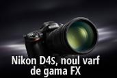 Nikon D4S, noul varf de gama FX