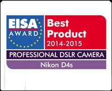 Nikon D4S castiga premiul European Professional D-SLR Camera 2014-2015