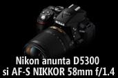 Nikon anunta cel mai nou DSLR cu ecran rabatabil   si un obiectiv fix luminos profesional