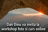 Dan Dinu va invita la workshop foto si curs online