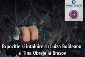 Expozitie si intalnire cu Luiza Boldeanu si Tina Obreja la Brasov