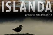 ISLANDA - proiectie foto Dan Dinu la Iasi