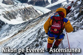 Nikon pe Everest - Ascensiunea