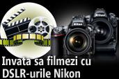 Inscrie un scurt-metraj si participa la workshop-ul Prezentarea procesului de filmare cu DSLR Nikon