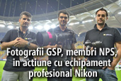 Fotografii GSP, membri NPS, in actiune cu echipament profesional Nikon