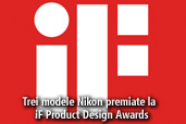 Nikon D750,  Nikon Df si Nikon 1 V3  castigatoare la iF Product Design Awards
