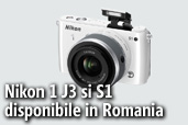 Nikon 1 J3, Nikon 1 S1 si Speedlight SB-N7 disponibile in Romania - unboxing
