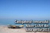 Castigatorul concursului Nikon-LicArt din luna aprilie 2013