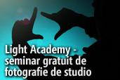 Light Academy, seminar gratuit de fotografie de studio la Constanta