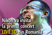 Nikon va invita la primul concert LIVE 3D din Romania  sustinut de Mihai Margineanu