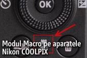 Modul Macro pe aparatele foto Nikon COOLPIX