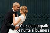 Curs de fotografie de nunta si business - cu Theo Manusaride si Vlad Cosmin