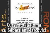 Curs foto la Roma cu Sebastian Marcovici