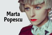 Interviu cu Marta Popescu -  unul dintre cei mai tineri fotografi de fashion si beauty